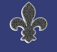 Louisiana Fleur De Lis (Louisiana / Cajun wording) Unisex T-Shirt