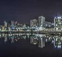 Salthouse Dock Liverpool Panoramic by Paul Madden
