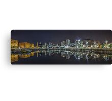 Salthouse Dock Liverpool Panoramic Canvas Print