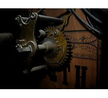 clockwork v2 Photographic Print