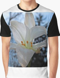 Peace Lily Graphic T-Shirt