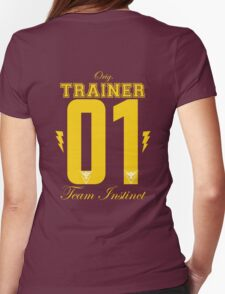 Team Instinct Trainer Womens Fitted T-Shirt
