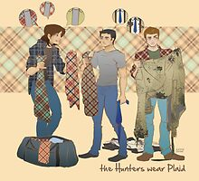 the Hunters wear Plaid by Justyna Rerak