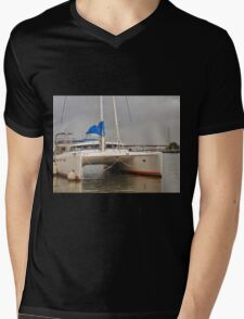 Marina Boat Mens V-Neck T-Shirt
