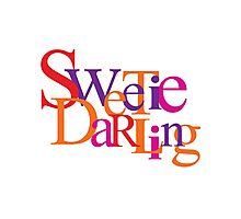 Sweetie Darling Photographic Print