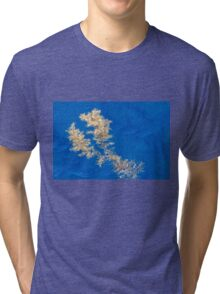 Floating seaweed on the ocean surface Tri-blend T-Shirt