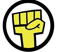 Noodles Sticker Fist by HeroSoulz