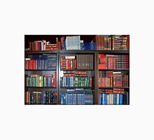 Bookcase full of Dutch reference works Unisex T-Shirt