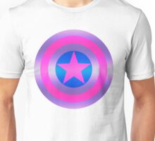 Bi Pride Shield Unisex T-Shirt