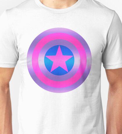 Bi Pride Shield Unisex T-Shirt