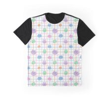 Plaid Pastel Cats Graphic T-Shirt
