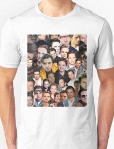 sebastian stan collage Unisex T-Shirt