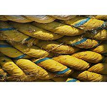 The Yellow Rope Photographic Print