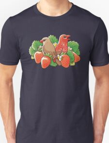 Strawberry finches Unisex T-Shirt