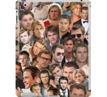 chris hemsworth collage iPad Case/Skin