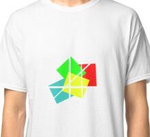 Abstract Art color primal Classic T-Shirt