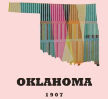 oklahoma state map Kids Clothes