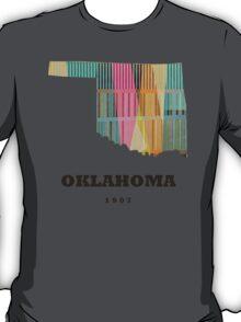 oklahoma state map T-Shirt