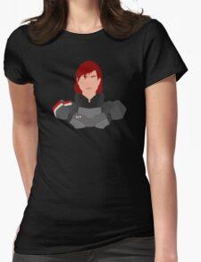 Mass Effect FemShep Minimalist Womens Fitted T-Shirt
