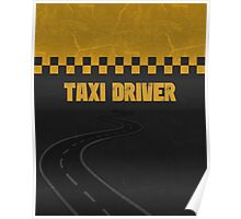 Taxi Driver T Shirt Poster