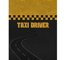 Taxi Driver T Shirt Photographic Print