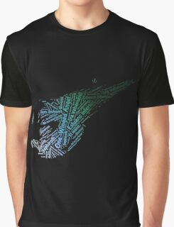 Final Fantasy VII logo One-Winged Angel Graphic T-Shirt