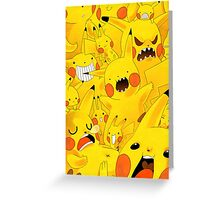 Pokemon - Pikachu Greeting Card