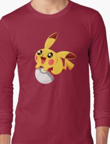 Pikachu : PokemonGo Long Sleeve T-Shirt
