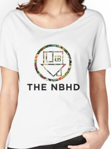 The Neighbourhood Tropical Floral Print Shirts & More Women's Relaxed Fit T-Shirt