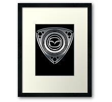 Mazda Rotary Framed Print
