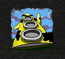 Mooniac Mansion - Yellow Tentacle Tri-blend T-Shirt