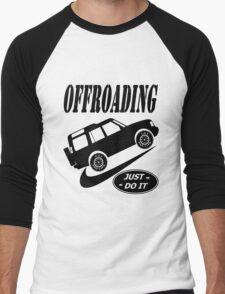 Nike Land Rover Just Do It (Parody) Men's Baseball ¾ T-Shirt