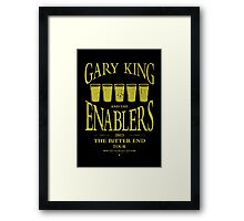 Gary King and the Enablers Framed Print