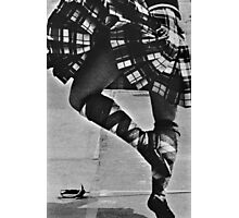 Scottish Sword Dancer Photographic Print