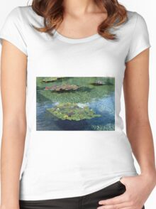 Blue Tranquillity Women's Fitted Scoop T-Shirt