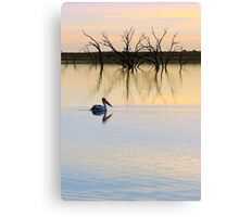 Peace and Quiet on the Lake Canvas Print