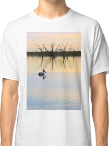 Peace and Quiet on the Lake Classic T-Shirt