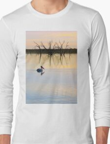Peace and Quiet on the Lake Long Sleeve T-Shirt