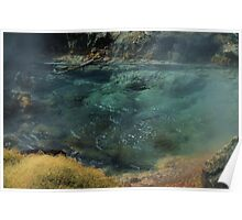 Bubbling Hot Springs Poster
