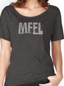 Mavs Fanatic - Never Forget Women's Relaxed Fit T-Shirt