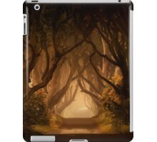 Sunny morning in Dark Hedges iPad Case/Skin