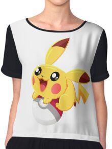 Pikachu : PokemonGo Chiffon Top