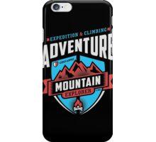 Adventure Mountain Graphic Art iPhone Case/Skin