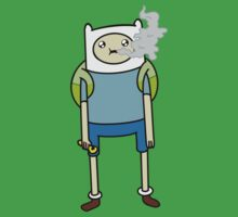 """Adventure Time's Finn in """"The Exhale"""" by HighlyAnimated"""