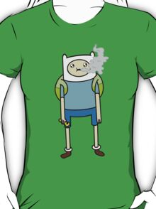 "Adventure Time's Finn in ""The Exhale"" T-Shirt"