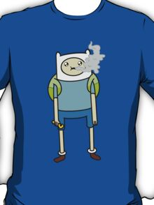 """Adventure Time's Finn in """"The Exhale"""" T-Shirt"""