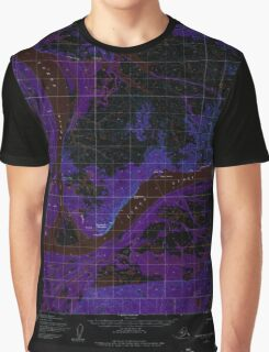 USGS TOPO Map Alaska AK Russian Mission C-8 358667 1952 63360 Inverted Graphic T-Shirt