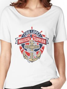 Nautical Supplier Graphic Art Women's Relaxed Fit T-Shirt