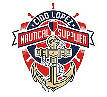 Nautical Supplier Graphic Art Photographic Print