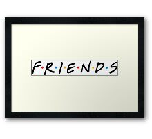 Friends of Best Friend Framed Print